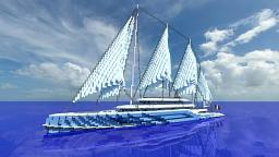 Sailing yacht - L' Atlas Minecraft Project