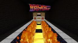 Back to the Future Delorean Minecraft Map & Project