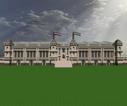 Bismarckhafen Main Trainstation (Download) Minecraft Map & Project