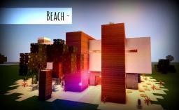 [Modern] ~Beach Minecraft Map & Project