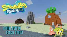 Bikini Bottom: Conch Street Minecraft Map & Project