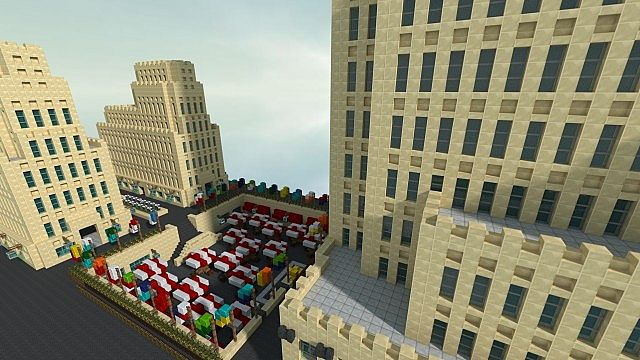 Rockefeller Center Minecraft Project - 65.5KB