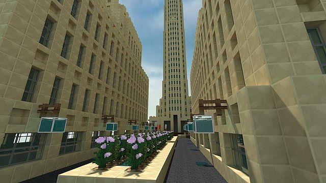 Rockefeller Center Minecraft Project - 48.4KB