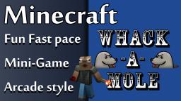 Whack A Mole Mini Game in Minecraft [1.8]