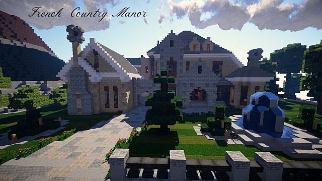 French Country Manor Minecraft Project