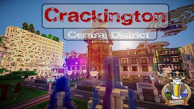 Crackington - die neue Stadt auf dem Crime-Server