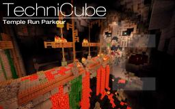 Temple Run Parkour Minecraft Project