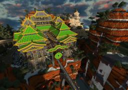 Earth Kingdom Grand Market Minecraft Project