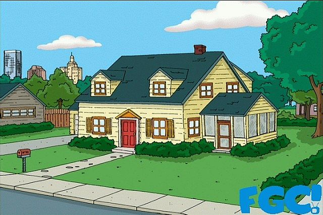 family guy: griffin's house minecraft project