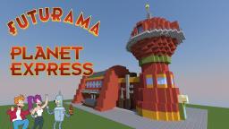 Futurama: Planet Express Minecraft Map & Project