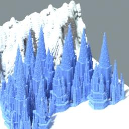 Ice Castle-In Another Minecraft Map & Project