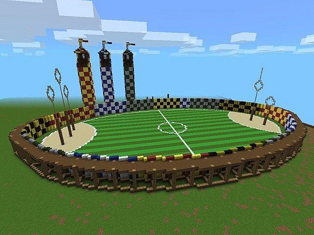Quidditch Pitch Minecraft Project