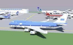 Boeing 747-400 Minecraft