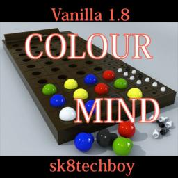 Mastermind in Vanilla Minecraft 1.8 - ColourMind! *BETA*