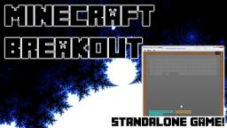 Minecraft Breakout! - Minecraft Styled Breakout Game Minecraft Mod