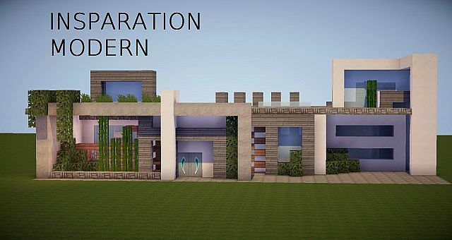 Ultra modern house insparational minecraft project for Super modern house