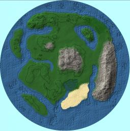 Nevergreen Land Minecraft Map & Project