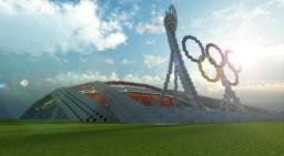 Olympic Stadium Minecraft