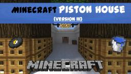 Minecraft Piston House [MODERN] Minecraft Project
