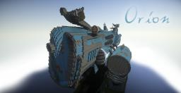 Orion - Dieselpunk Whaling Airship Minecraft Map & Project
