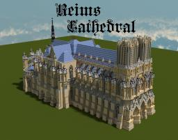 Reims Cathedral Minecraft Map & Project