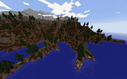 Realistic Scandinavian Isles - 3.5k x 3.5k - Architectus Minecraft Project