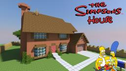 Springfield: Simpson's House Minecraft Map & Project