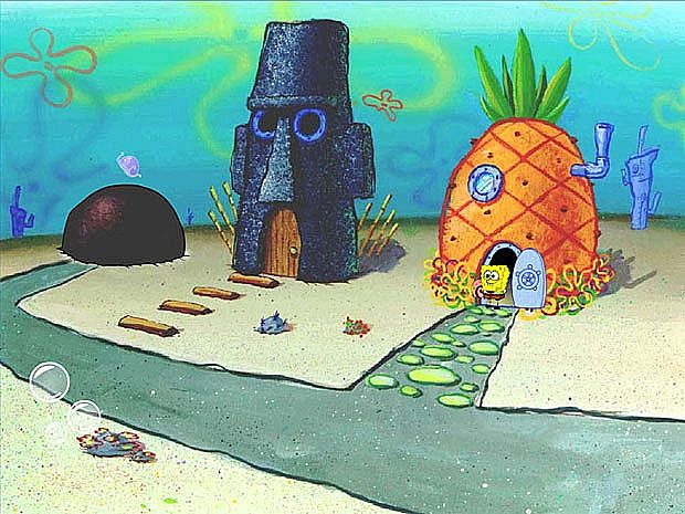 Can sponge bob bikini bottom