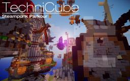 Steampunk Parkour Minecraft Map & Project