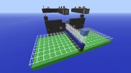 tennis like game Minecraft Map & Project