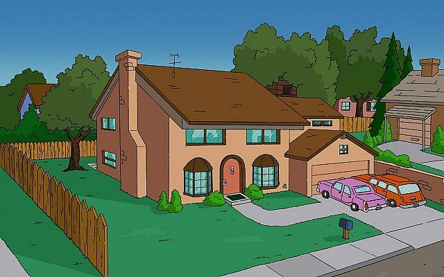 Springfield Simpson S House Minecraft Project