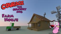 Courage the Cowardly Dog: Farm House Minecraft Map & Project