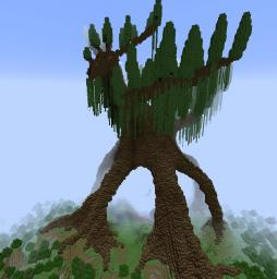 Moresathna Tallath: Giant Ornamental Elvish Shrubbery Minecraft Map & Project