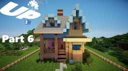 Minecraft: Lets Build Disney Pixar Up House Part 6 Minecraft Map & Project