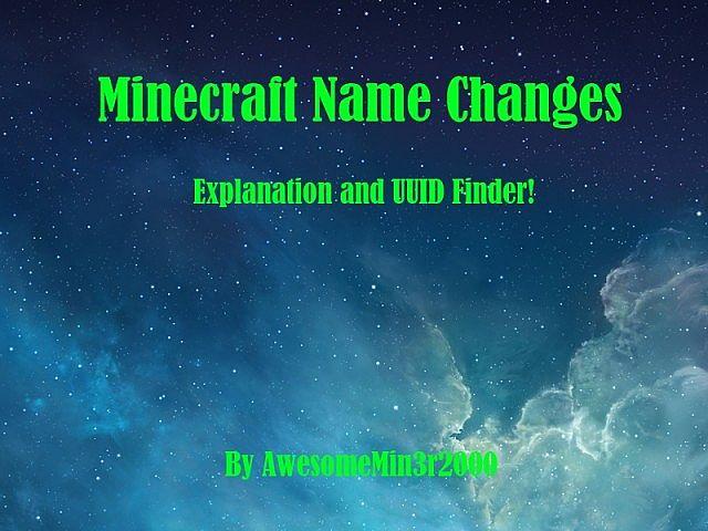 Minecraft UUID Find Your Minecraft UUID Minecraft Mod - Minecraft spieler finden mod