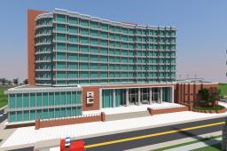 Lapiz Point's Medical University | ECS Minecraft Map & Project