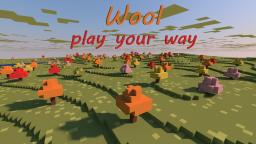 Wool Minecraft Map & Project