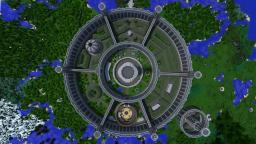 The Imperial City from TES:IV Oblivion Minecraft Project