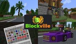 Blockville (Survival   Earth   Towny   Skyblock   Creative) Minecraft Server