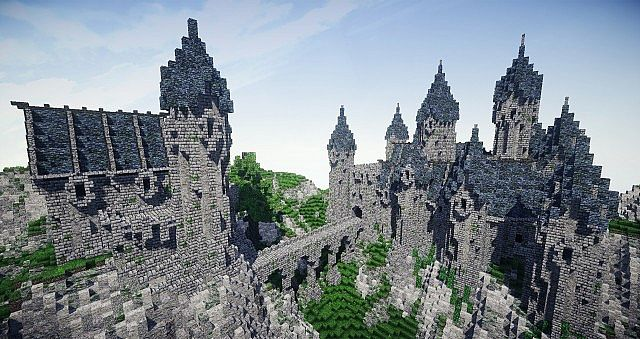 Epic Gothic Castle Download Minecraft Project