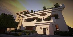 Modern Getaway House Minecraft Map & Project