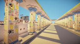 Ancient Egyptian City Minecraft Project