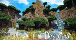 ~☁Desteria☁~ Minecraft Map & Project