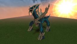 Dialga Organic (3D) by MidnightDawn Minecraft Project