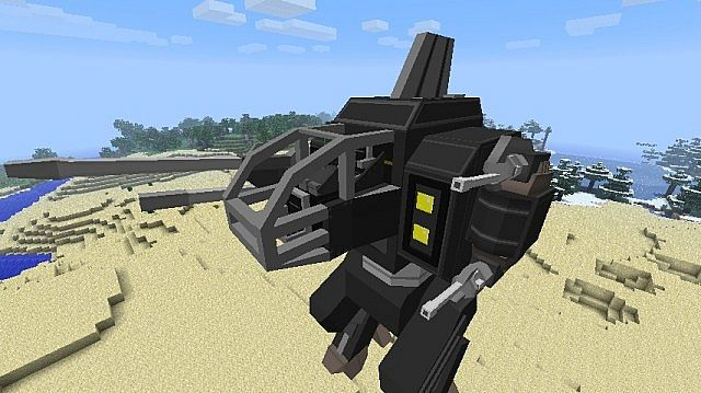 Clocking in at 23 blocks high, the Type IX Fafnir is ready to take down pretty much anything