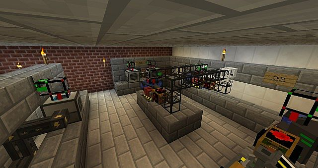 Minecraft Laboratory Project