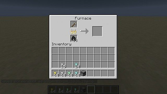 Smelting Iron Pickaxe pt1