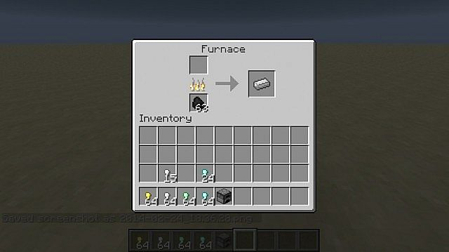 Smelting Iron Pickaxe pt2
