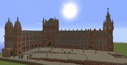 St Pancras Railway Station, London Minecraft Project