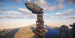 Air ship docking station Minecraft Map & Project